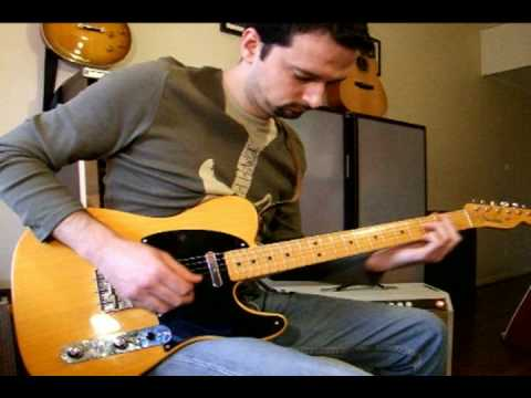 My Fender Telecaster American Vintage 52 Music Videos