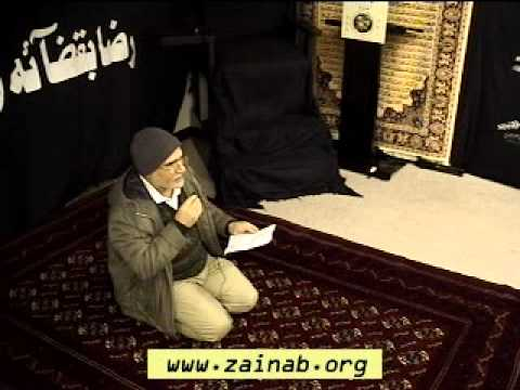 Muharram 1st 1432 2010 - Zainab Center - Salaam - Hussain Janam Hussain Jaan video