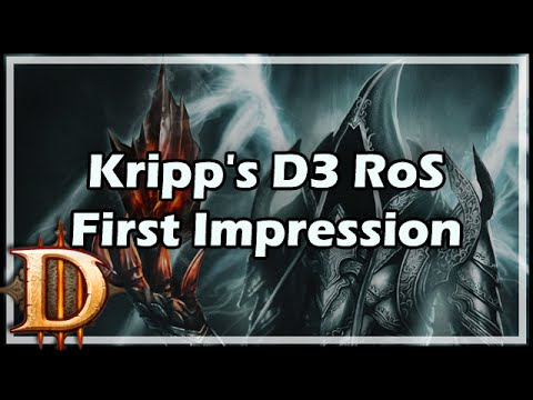 [Diablo 3] Kripp's D3 RoS First Impression