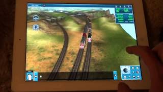 Trainz Simulator геймплей (gameplay)