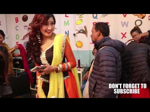 HIT SONG RUPAI MOHANI BEHIND THE SCENE SATRU GATE NEPALI MOVIE