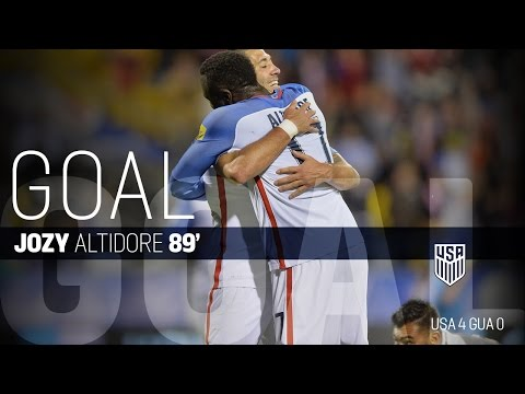 MNT vs. Guatemala: Jozy Altidore Goal - March 29, 2016