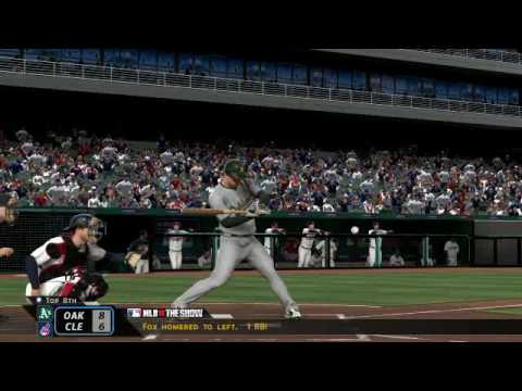 MLB The Show 10 - A's at Indians Video