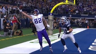 Kyle Rudolph Insane One-Handed TD Catch | Vikings vs. Cowboys | NFL