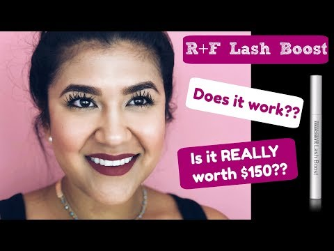 R+F LASH BOOST REVIEW   8 Weeks of Use (with before/after pics)