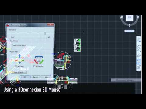 Make life easier in AutoCAD 2013 with a 3Dconnexion 3D Mouse