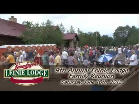 2012 Leinie Family Reunion at the Leinie Lodge in Chippewa Falls, WI - Leinenkugels Beer