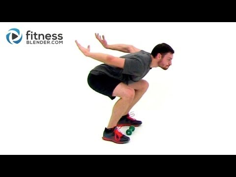 Fat Burning Plyometric Workout -- Plyometric Training for Power, Speed...