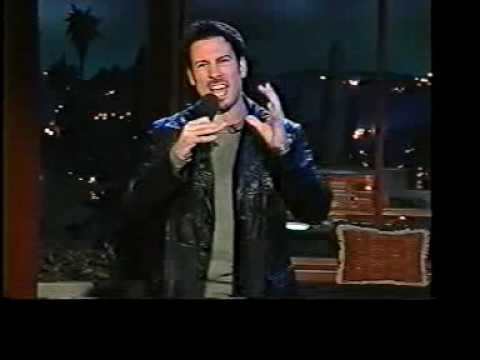 Joe Matarese's First Late Night Talk Show Appearance From 2001