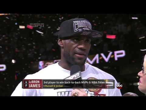 """I'm LeBron James from Akron, Ohio"