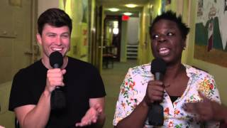 Leslie Jones & Colin Jost