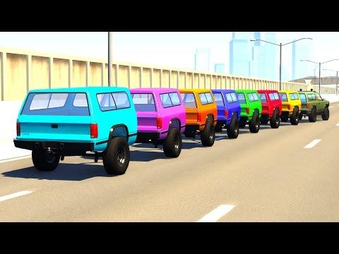BeamNG DRIVE Random Vehicles Crash Testing Part 4