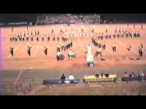 Lincolnton High School Wolfpack Band_Let there be praise_1987-88