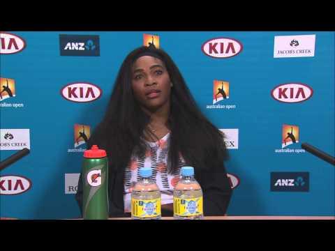 Serena Williams press conference - Australian Open 2015