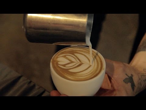 Latte Art Throwdown at Vertigo Coffee | Latte Art, Coffee, Gold Chains