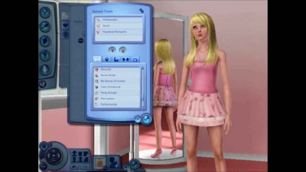 sims 3 create a sim quotgirly girlquot youtube