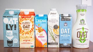 Which Oat Milk is the Best? A Comprehensive Taste Test