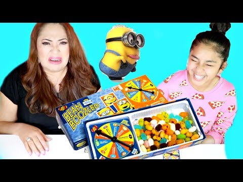 Bean Boozled Challenge Minion Edition Nasty LOL!!! B2cutecupcakes