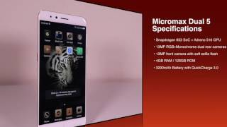 Micromax Dual 5 - Quick Look in 4K UHD #TechAMinute