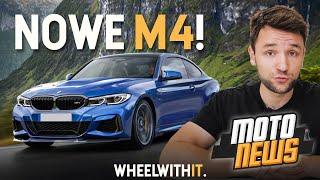 BMW M4 2020, Nowe A45S oraz SUV Astona Martina - MotoNEWS #24 Lipiec 2019