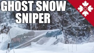 Ghost Snow Sniper | Silent Stealth Snow Ghillie Gameplay