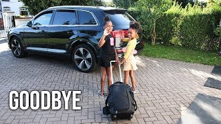 SAYING GOODBYE TO THE TWINS!