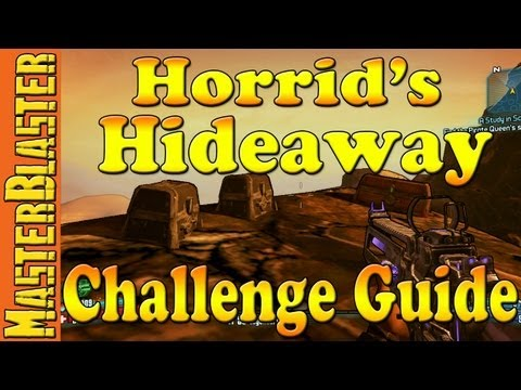 Borderlands 2 Horrid's Hideaway Challenge Guide - Oasis
