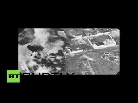 Combat Cam: US-led airstrikes hammer ISIS facilities in Iraq