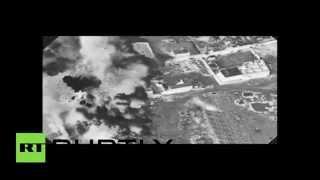 Combat Cam: US-led airstrikes hammer ISIS facilities in Iraq