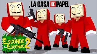 download musica Minecraft: LA CASA DE PAPEL Esconde-Esconde 2
