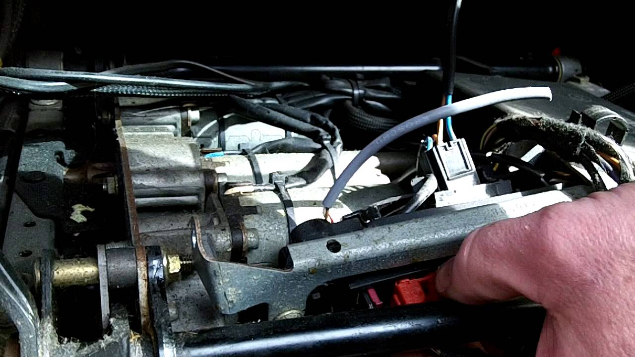 mercedes power seat module removal