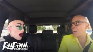 Drag Queen Carpool: Sasha Velour | RuPaul's Drag Race Season 9 | Now on VH1!