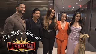 ROMAN REIGNS & STEPHANIE MCMAHON join The Bella Twins at Superstars for Hope!