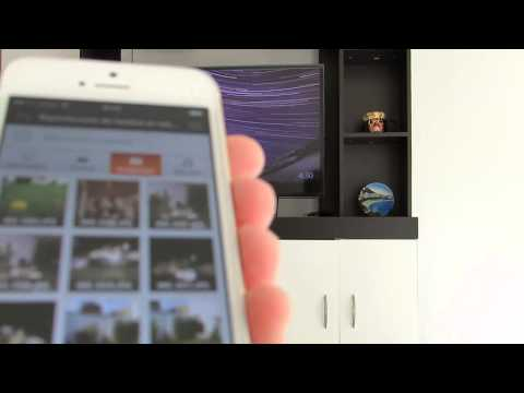 Ver videos y fotos del iPhone en Samsung Smart TV sin cables
