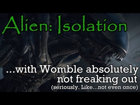 Watch this mans mind quickly unravel as he plays Alien: Isolation in the dark