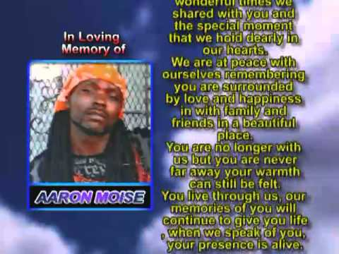 Aaron Moise memorial
