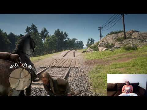 Red Dead Redemption 2 Random Encounter Road Ambush