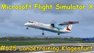 Let's Play Microsoft Flight Simulator X Teil 625 Landetraining in Klagenfurt [3/3] | Liongamer1