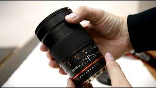 Samyang 135mm f/2 ED UMC lens review with samples (Full-frame and APS-C)