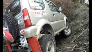 jimny off road VS samurai zanfi VS Partol Y61, ジムニー JB43
