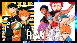 KUROKO'S BASKETBALL / HAIKYUU!! | AMV | SAN HOLO - RAW