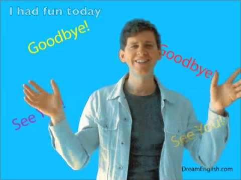 The Goodbye Song For Children video