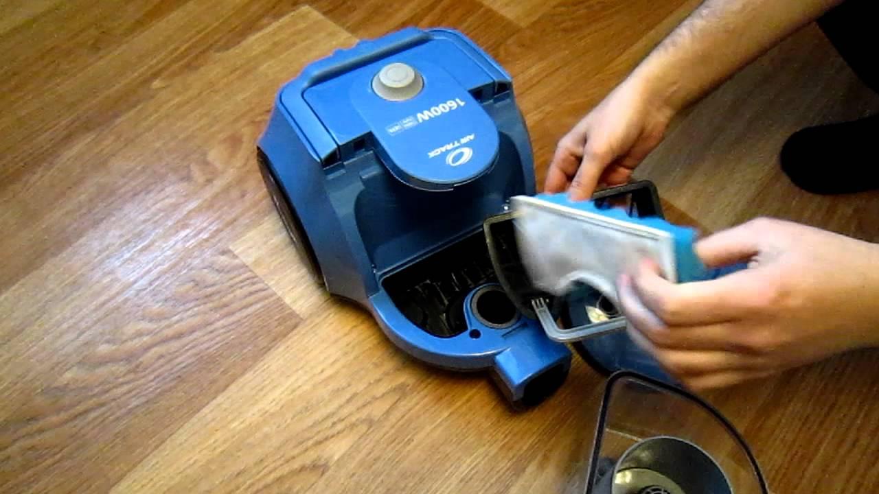 Инструкция по установке и замене HEPA фильтра в пылесосе Doovi
