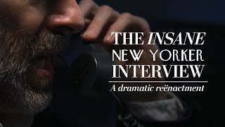 A reënactment of that Insane Scaramucci New Yorker Interview | The Washington Post Comedy + Satire