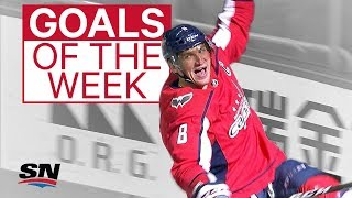 NHL Goals of the Week: Ovechkin hits 600