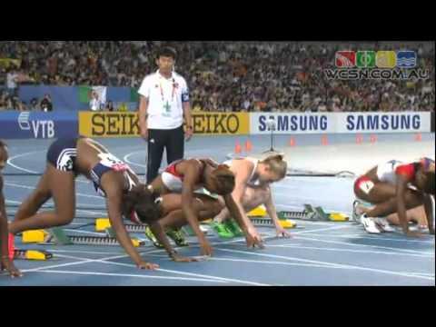 2011 IAAF Daegu World Athletics Championships - Womens 100m Hurdles