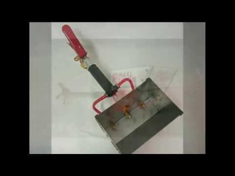Штукатурная лопата своими руками