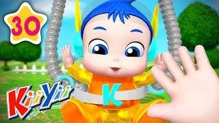 Finger Family Part 4 | Plus Lots More Nursery Rhymes | by KiiYii | Nursery Rhymes and Kids Songs
