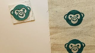 How To Make A Funny Monkey Stamp - DIY Crafts Tutorial - Guidecentral