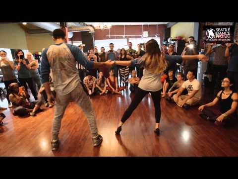 William and Paloma - Dance Festival at the Center of the Universe 2015 - Zouk Demo 3